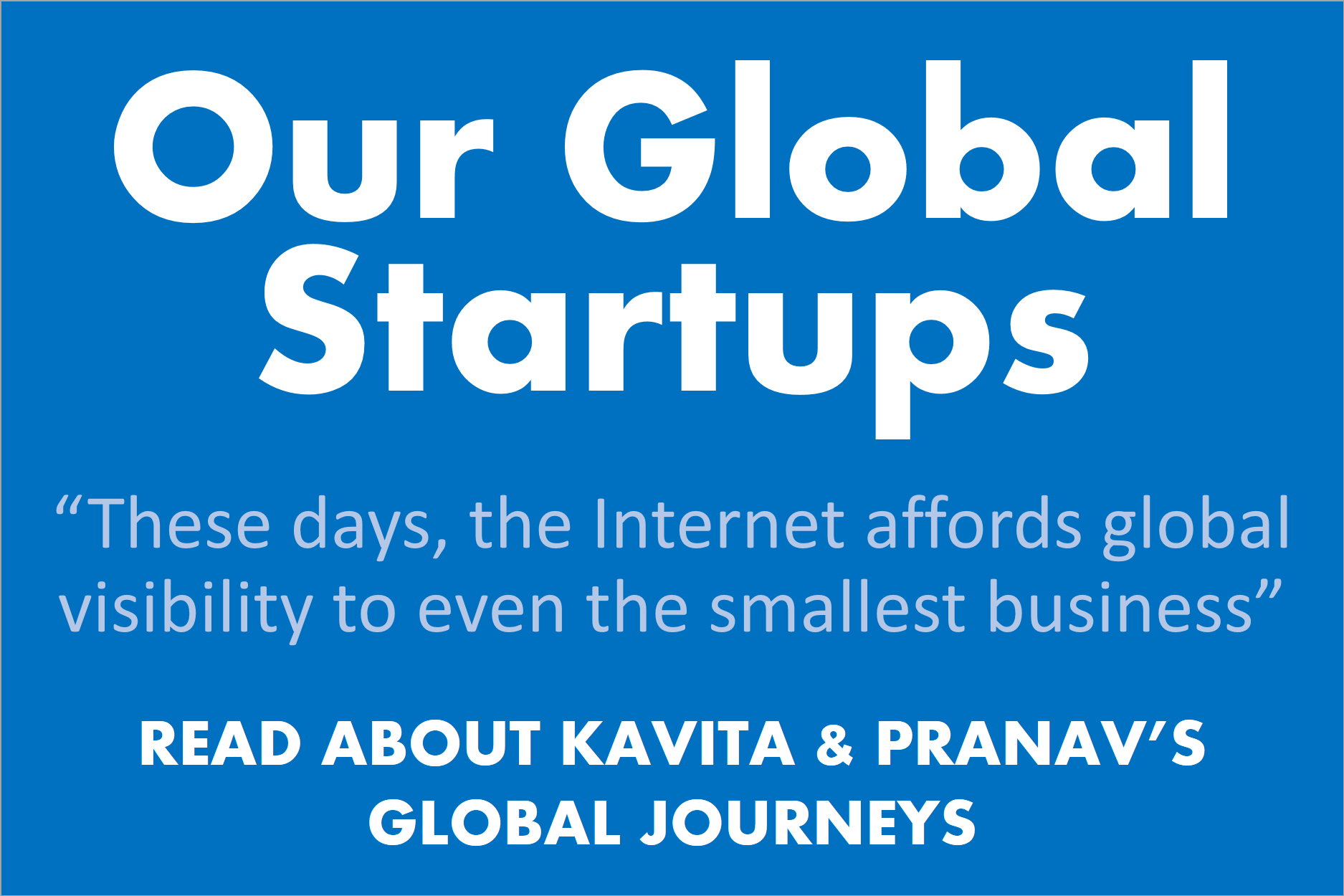 Our Global Startups